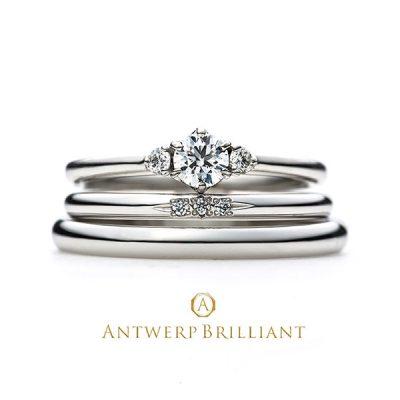 新潟でシンプル可愛い結婚指輪ならアントワープブリリアントの取り扱いのあるBROOCHへ