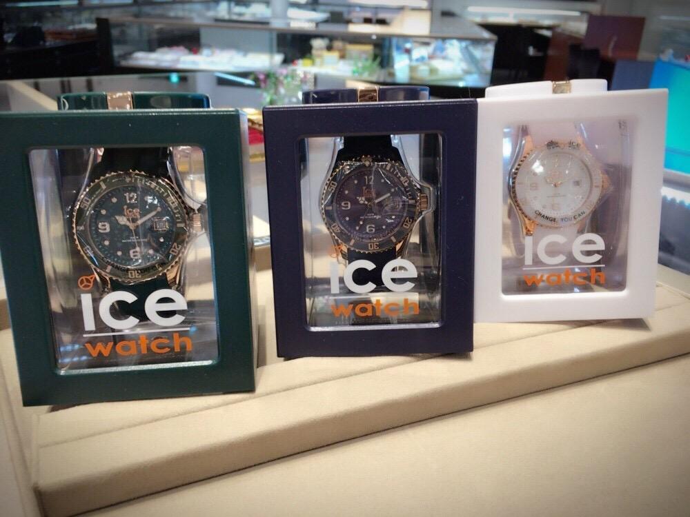 クリスマスにぴったりオシャレかわいい旬の時計をプレゼントするならicewatchアイスウォッチ取り扱いは新潟BROOCHブローチ