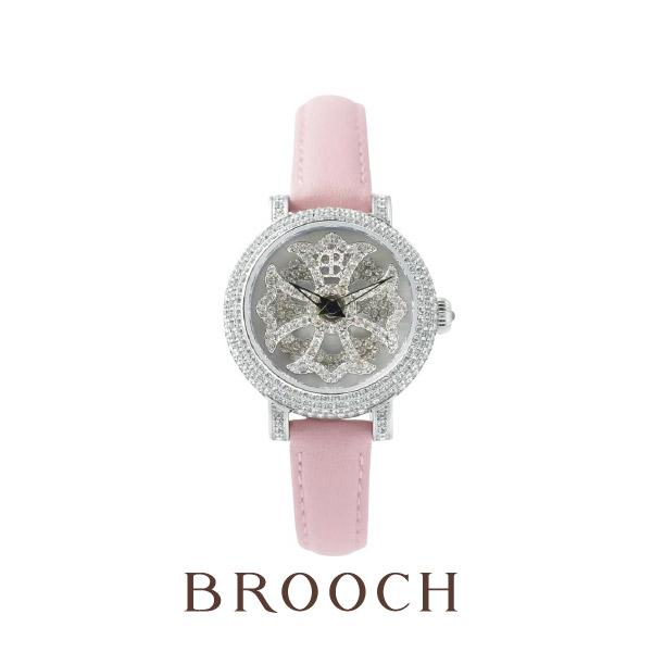 能人御用達の話題のきらきらくるくる腕時計はブリラミコ!新潟で取扱いはブローチだけ!