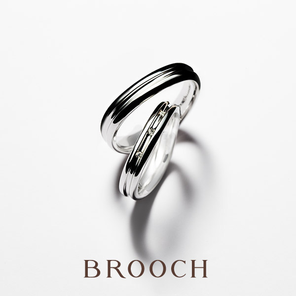 新潟婚約結婚指輪探しならブローチのデザートの指輪ティラミスがシンプル王道かわいいおすすめ