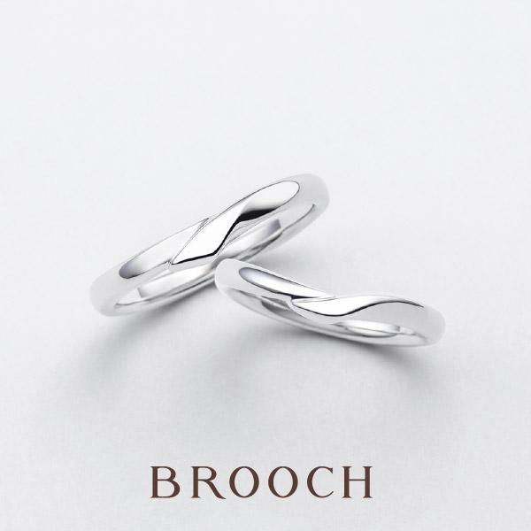 王道のシンプル可愛い結婚指輪はnaturel緩やかなウェーブデザインでオシャレな指輪滑らかな着け心地