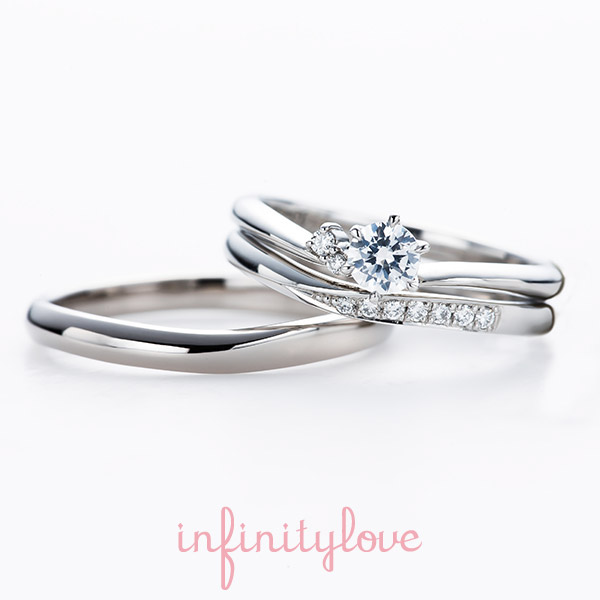 新潟可愛い婚約指輪結婚指輪エンゲージリングマリッジリングトレンドプラチナピンクゴールドイエローゴールド