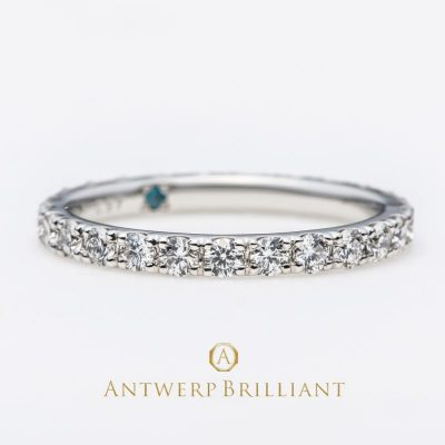 """D Line Nebula"" Diamond Full Eternity Ring 1.17ct"