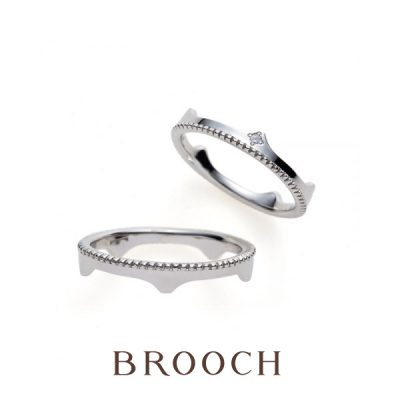 新潟で可愛い結婚指輪ならブリッジ