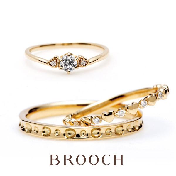 新潟で可愛い結婚指輪ならハートモチーフのインフィニティラブがおすすめ