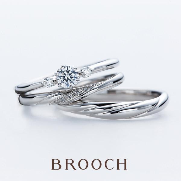 お花モチーフの可愛い結婚指輪婚約指輪さがすならジャスミン