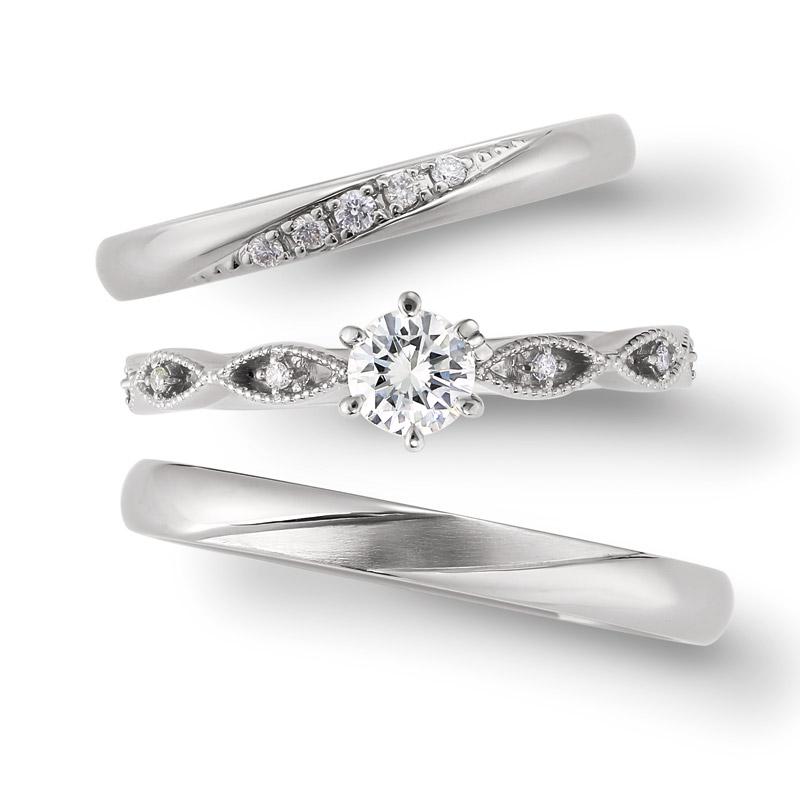 サンリオ大人気キャラクターキティちゃんの結婚指輪婚約指輪