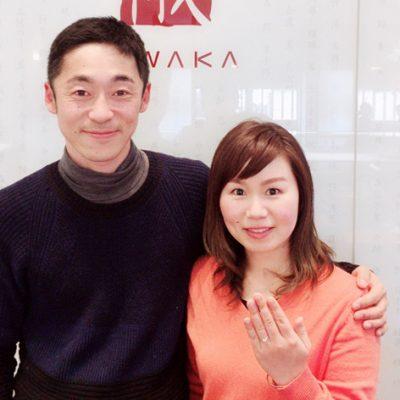 NIWAKA俄サイドメレが人気の白鈴(しろすず)エンゲージでプロポーズ新潟市のBROOCHは正規取り扱店