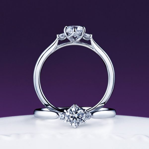 にわか(俄)ダイヤモンドと婚約指輪「白鈴」は新潟のにわか正規取扱店ブローチへ