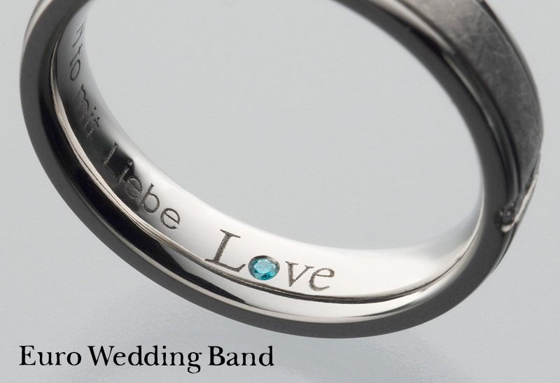 Euro Wedding Band Love2 Blue Campaign 2018-11