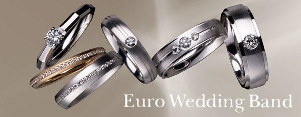鍛造製法のドイツジュエリーeuro wedding bandユーロウエディングバンド(EWB)は新潟の結婚指輪専門店BROOCH(ブローチ)へ