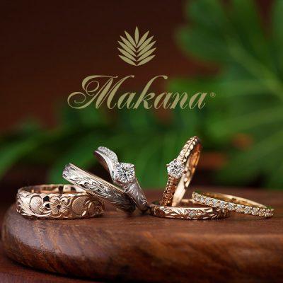 ハワイアンジュエリーの結婚指輪安心の品質と綺麗な彫りが魅力的な指輪で新潟で探すならBROOCH海ハワイ好きなお二人へ