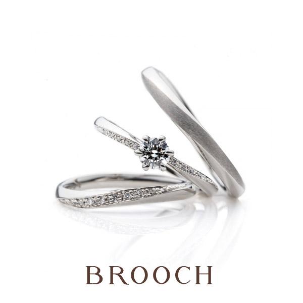 新潟でキラキラはなやかな結婚指輪を選ぶならブリッジのやわらかな春風が今の季節にぴったりあっていておすすめ