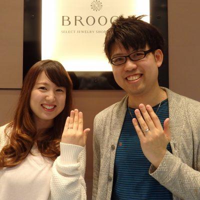 新潟で俄をお探しならBROOCHブローチへ品揃え県内最大の正規取り扱い店へ限定商品も多数NIWAKAの初桜などセットリングも人気