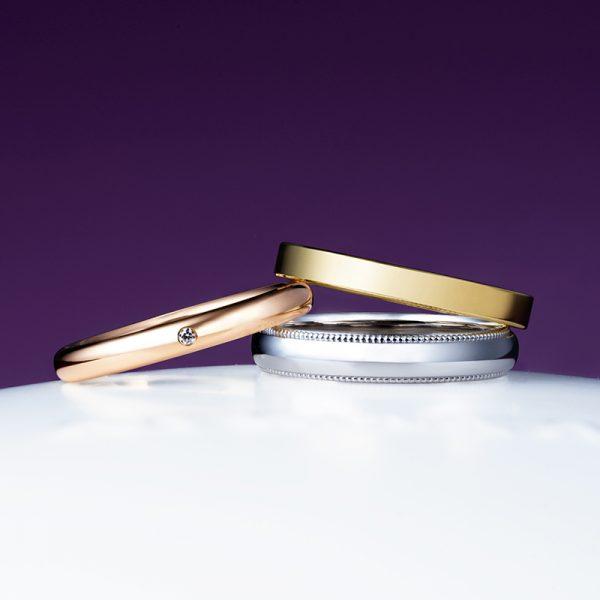 新潟市のブローチでシンプルな結婚指輪(マリッジリング)を選ぶならにわかのことほぎがおすすめ
