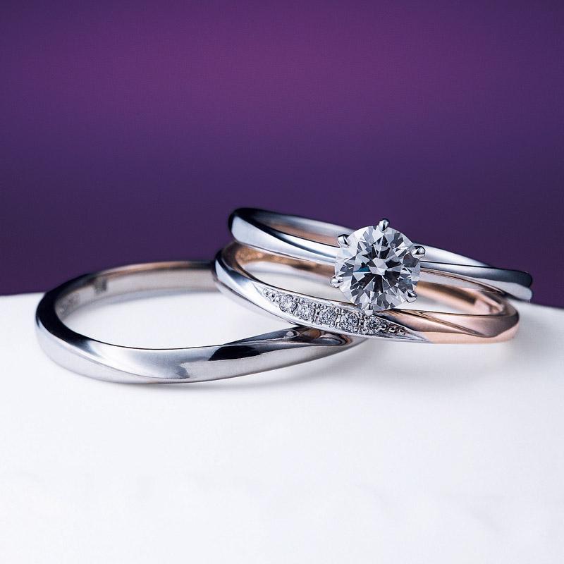 花雪雪佳景のシンプル可愛いダイヤモンド綺麗なデザイン俄