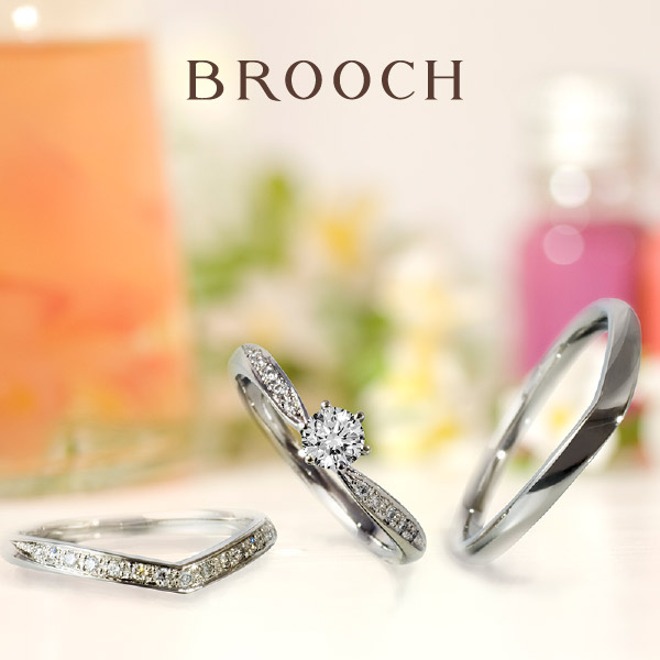 新潟でかわいい結婚指輪をお探しならお花モチーフのラパージュがおすすめ