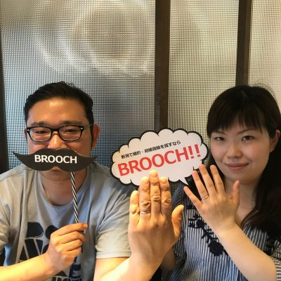 新潟で世界に一つだけのペアリングを選ぶならBROOCHへ