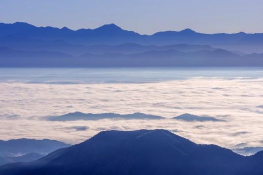雲海美しい阿智村でプロポーズ