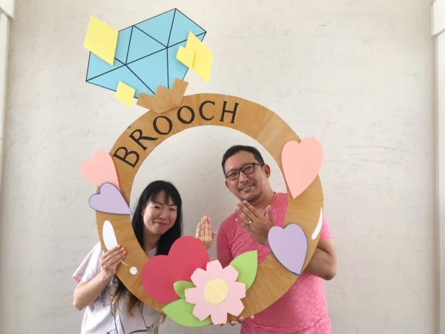 江戸時代からの伝統技法を取り入れたふたりの想いがカタチになる結婚指輪「杢目金屋」を選んで頂きました!