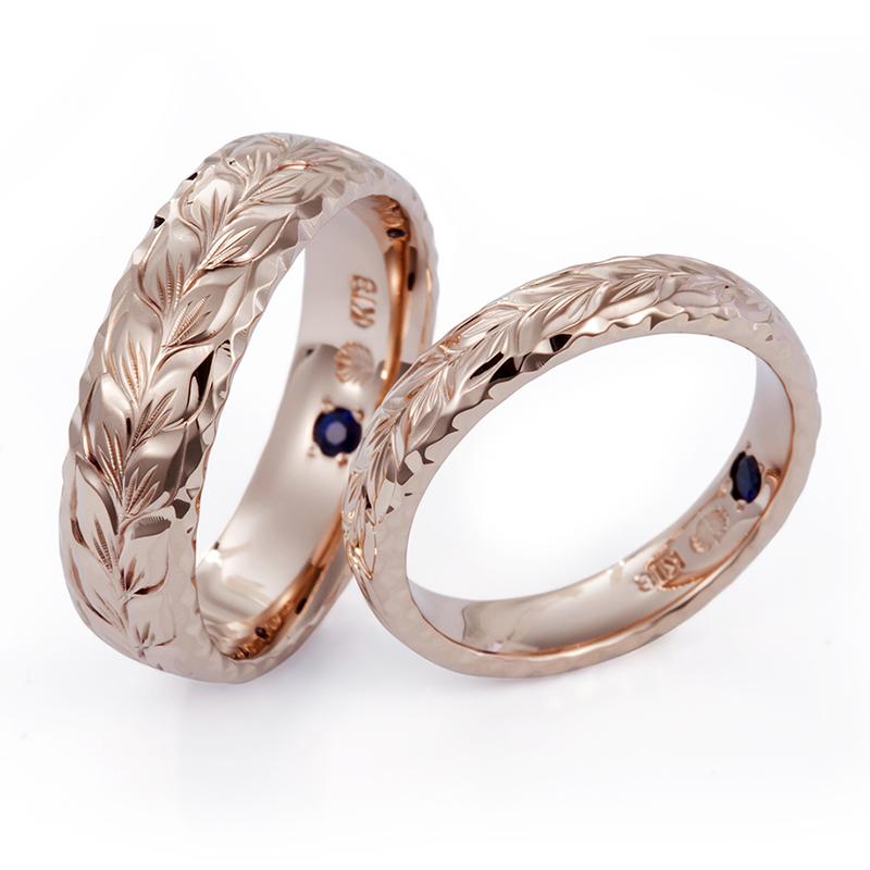 新潟結婚指輪婚約指輪ブローチBROOCHハワイアンジュエリーMAKANAマカナマイレリーフ