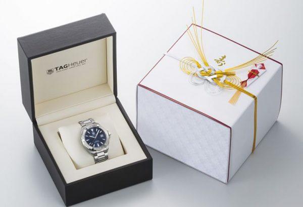 お返しに人気の腕時計はBROOCHのTAGheue