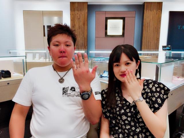 結婚指輪はキラキラ可愛いSomthingBlue!USJでワクワクプロポーズ・・・・♡