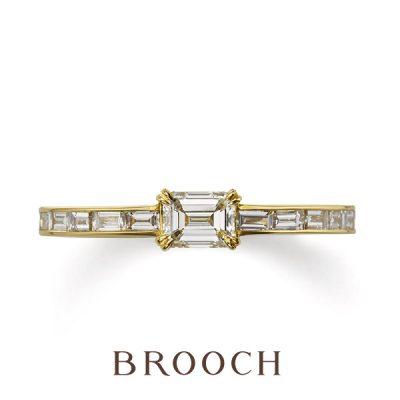 SNSで人気の四角いカットのダイヤモンドが特徴のブランドはORECCHIO