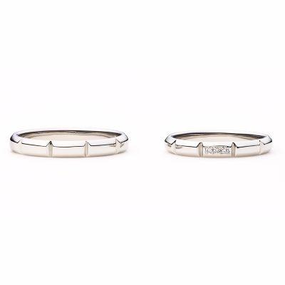 フィナンシェをモチーフとしたかわいい人気の結婚指輪はデザート