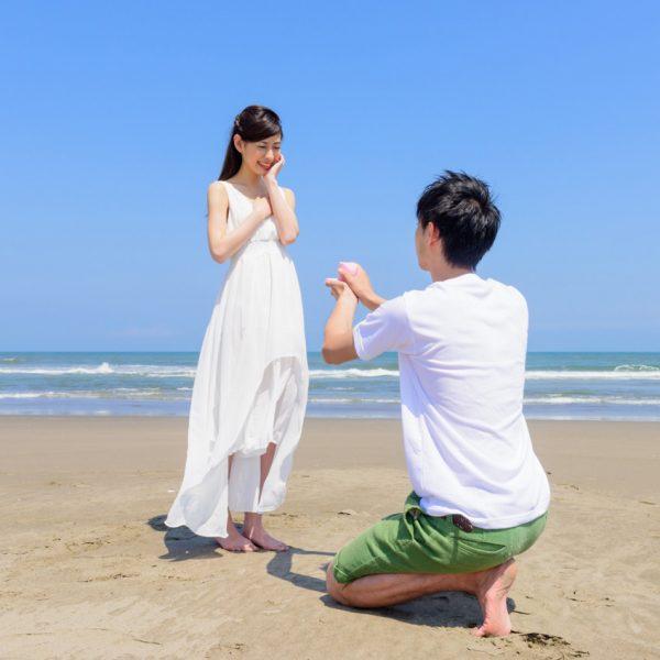 新潟市のブローチでプロポーズリングの婚約指輪を選ぶ