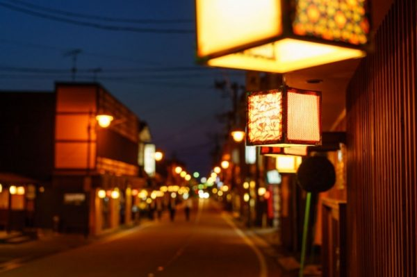 新潟でプロポーズ 月岡温泉街