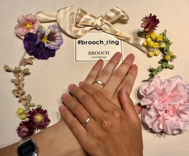 こだわりぬいて出会った運命の杢目金屋の結婚指輪