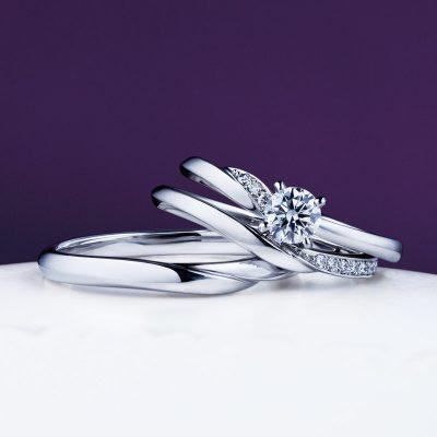 俄 にわか NIWAKA 木漏日 こもれび せせらぎ 婚約指輪 エンゲージリング 結婚指輪 マリッジリング セットリング 重ね着け ダイヤモンド 和 和風 和ジュエリー 和風ジュエリー 京都 プレ花嫁 夫婦 プロポーズ BROOCH propose サプライズプロポーズ 婚約 結婚 ブライダル