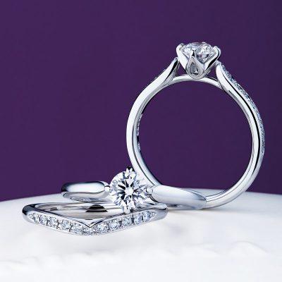 NIWAKA ニワカ 俄 にわか 睡蓮 すいれん BROOCH ブローチ 結婚指輪 婚約指輪 マリッジリング エンゲージリング サプライズ プロポーズ シンプル ダイヤモンド キレイ かわいい キラキラ