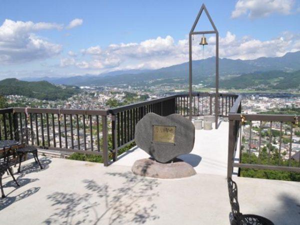 新潟でプロポーズ 花咲山展望台