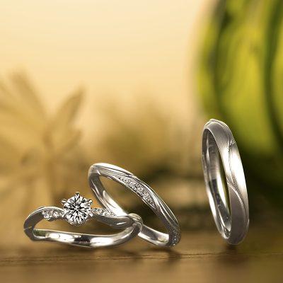新潟で結婚指輪婚約指輪を探すなら県内唯一取り扱いのBROOCHでLAPAGEラパージュのマリッジリング