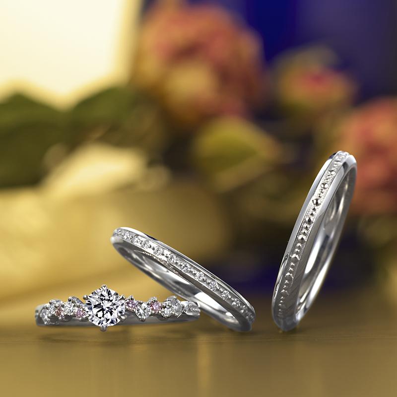 LAPAGE ラパージュ 結婚指輪 婚約指輪 マリッジリング エンゲージリング セットリング シンプル かわいい クラシカル  結婚式 サプライズ ブライダル ウェディング サプライズ 新潟 BROOCH ブローチ