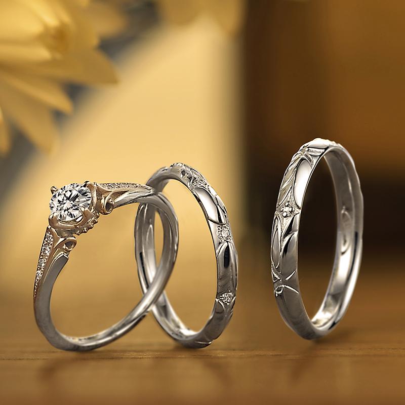 SNSでも話題のクラシカル結婚指輪婚約指輪LAPAGEは新潟ではBROOCHのみのお取り扱い