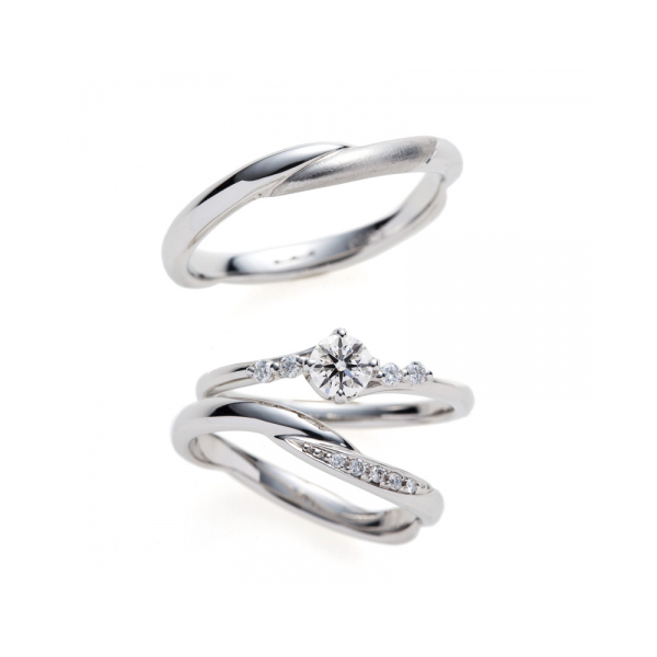 BRIDGE ブリッジ BROOCH ブローチ 新潟 シンプル 結婚指輪 婚約指輪 マリッジリング エンゲージリング セットリング ダイヤモンド プロポーズ サプライズ 結婚式 キラキラ