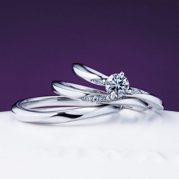 新潟で人気の結婚指輪と婚約指輪 BROOCH 俄(にわか) | NIWAKAの手になじみやすくカッコいいマリッジリング(結婚指輪)