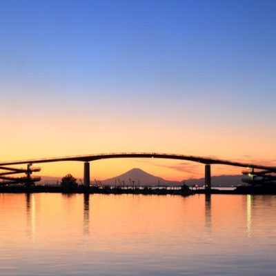 夕日が美しい橋の上でプロポーズで思い出を残すなら中の島大橋