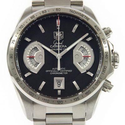TAGHeuer タグホイヤー スイス製時計 自動巻き 新品 グランドカレラ CAV511A.BA0902