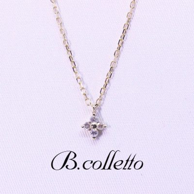 B.colletto petit flower necklace