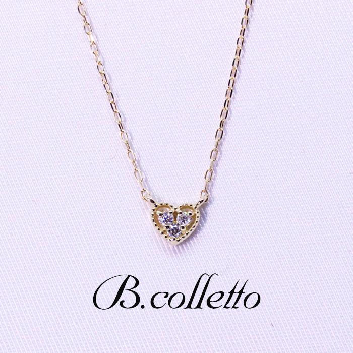 B.colletto アンティークハートネックレス