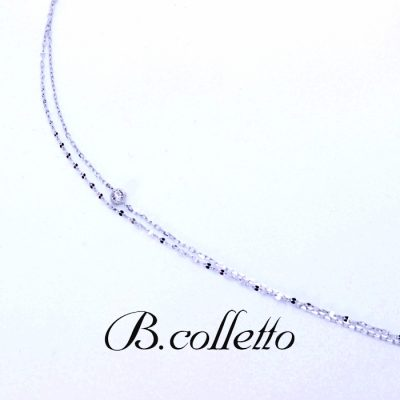 B.colletto w chain bracelet