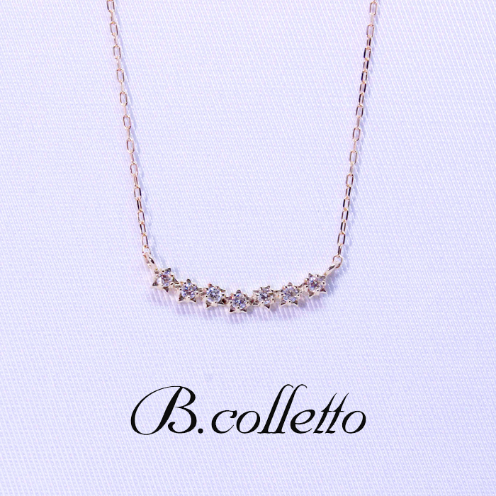 B.colletto セブンスターネックレス