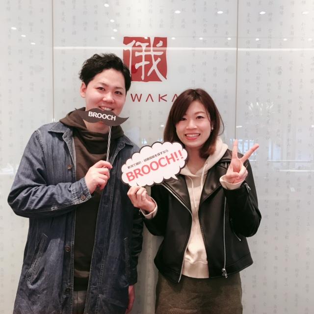 一目ぼれで選んで頂いた京都の人気ブランドNIWAKA(俄ニワカ)の綺羅(キラ)