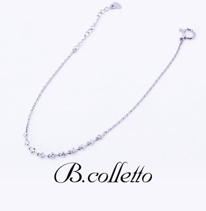 B.colletto ダイヤ10石ブレスレット