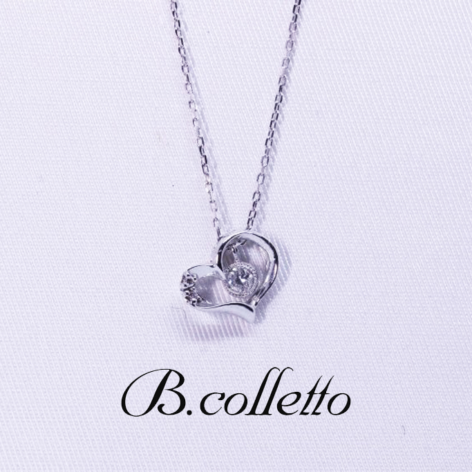 B.colletto ハートネックレス