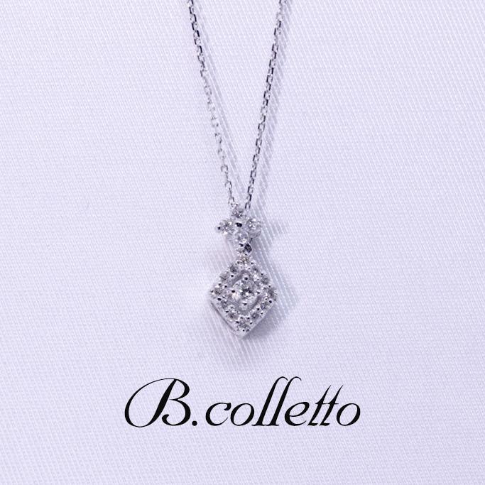 B.colletto ダイヤモンドデザインネックレス